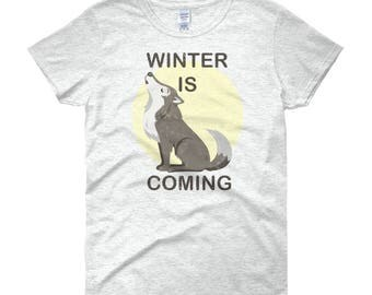 Winter is Coming – Women's T-Shirt