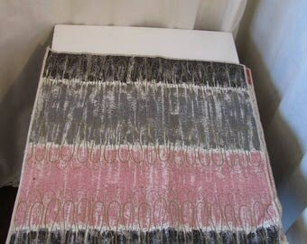 1950's Barkcloth Curtain Panel Swatches