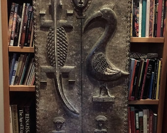 Antique Dogon door from Mali, Africa
