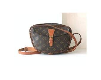 Auth Louis Vuitton Monogram jeune fille shoulder bag vintage purse