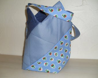 oven-all Messenger bag, reversible