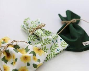 Sunflower - Quarter Fabric Pack 3 Fabric 1set - Sets for 3 each 45 X 55 cm