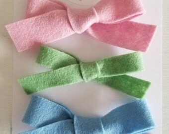 Giovanna Trio - one size fits all nulin headbands or hair clips