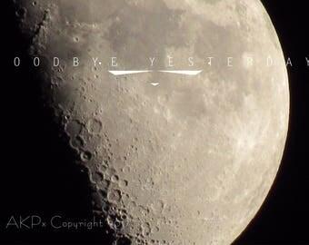 Goodbye moon poster
