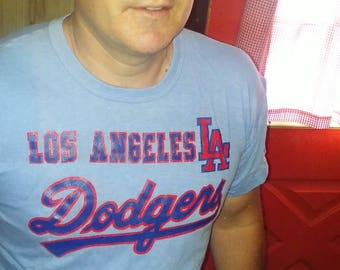 Los Angeles Dodgers 80's T-shirt (L) true vintage
