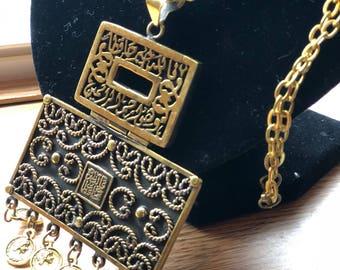 islamic oriental Necklace