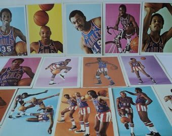 The Harlem Globetrotters Magicians of Basketball Card Collection Comedic Basketball Entertainers All American Fun Team Lot of 34 Great Gift
