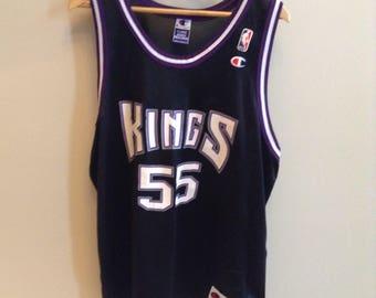 Vintage Sacramento Kings - Jason Williams #55 jersey - Size 48 / XL - Champion brand