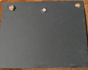 Irish Guards Shield Slate Chalk Board Messages, Lists , Tally Chart, Reminders Military Gift ME17