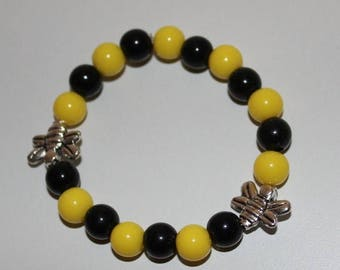 Semi-Annual SALE Bumble Bee Bracelet