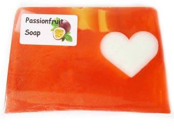 Handmade Luxury glycerin Passionfruit Soap... suitable for vegans