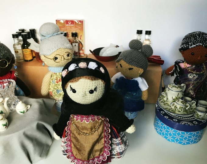 Featured listing image: The Nanas - Grandmother dolls from around the world
