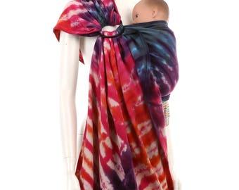 Ring Sling - Daiesu Sandbox Dyed 07 - Woven Baby Wrap - Ring Sling Baby Carrier