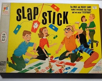 1966 Slap Stick Game MINT Sealed - OLD Store Stock