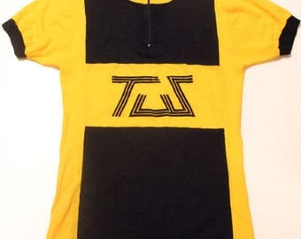 70's vintage cycle jersey made in Belgium