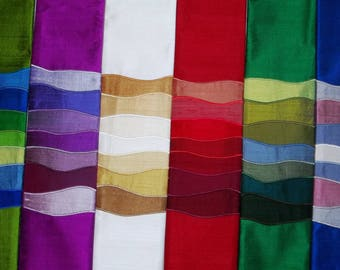 Waves of Worship custom designed clergy stole