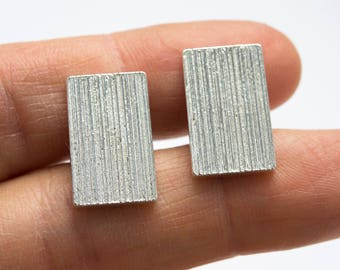 Men's cufflinks, 925 sterling silver cufflinks, classy and contemporary for man, for him