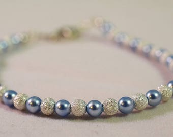 Baby Blue Stardust Bracelet