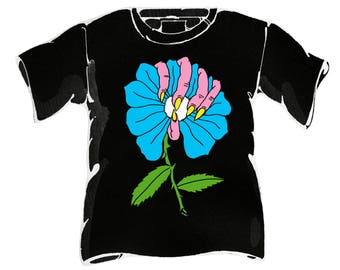 2XL No Mas Flower T-Shirt pre-order