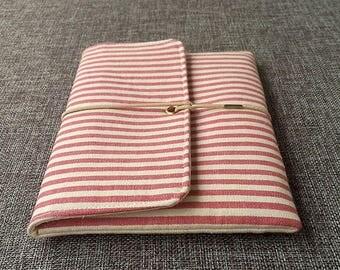 Kindle Paperwhite Case, Pink Stripe Kindle Cover, Kindle Voyage Sleeve,Kindle Oasis, Kindle Pad Case, Kindle Case