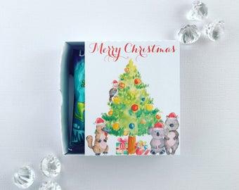 Australian Christmas matchboxes