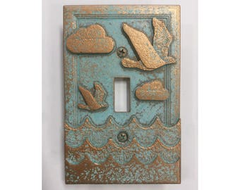 Ocean Themed - Light Switch Cover