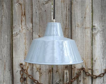 Retro grey metal factory light industrial hanging pendant lamp ceiling light LGN