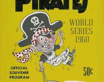 1960 Pittsburgh Pirates World Series Poster