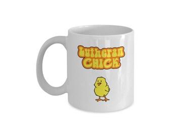 Lutheran Mug Lutheran Chick
