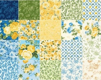 Victoria Gardens Ten Squares by Robert Kaufman Fabrics for Robert Kaufman