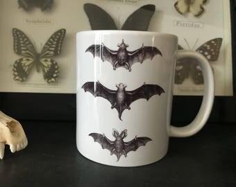Bat Chart Coffee Mug