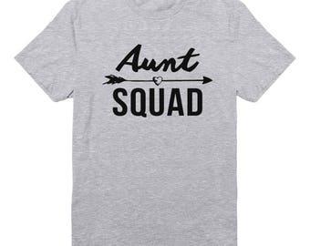 Aunt Squad Shirt Trendy Shirt Fashion Shirt Gifts Funny Quote Tee Slogan Shirt Graphic Teen Shirt Unisex Tshirt Men Tshirt Women