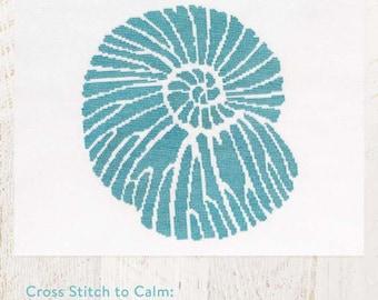 Cross Stitch to Calm: Fossil Cross Stitch Chart Download (804230)