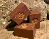 Honey Love Dust  Handcrafted Vegan Soap with Powdered Oats