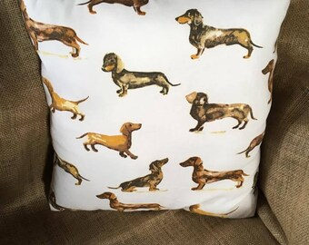 Dachsund cushions