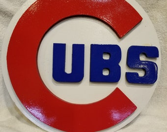 Chicago Cubs 3D sign