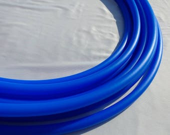 3/4th uv reactive blue hdpe