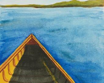 Smooth Sailing Painting