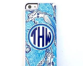 Summer Sale Blue Mermaid Phone Case. Monogrammed Cell Case. Mermaid Phone case iPhone 5,5s,5c,6 6 plus.