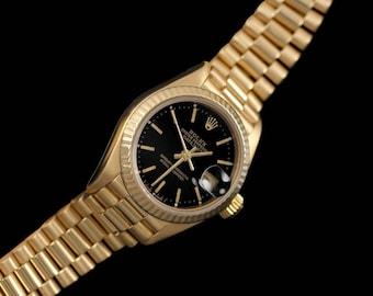 Rolex Ladies President Datejust, 69178 - 18K Gold
