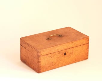French antique wooden box - Early century