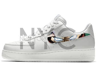 Iron Man Nike Air Force 1 Custom Men Women & Kids