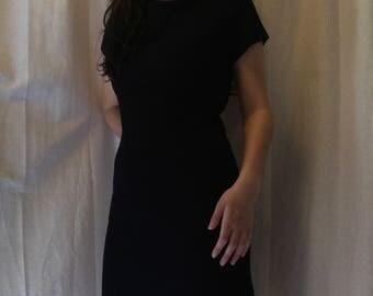 Marine Ribbed Mini Dress