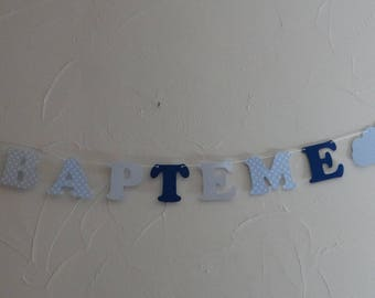 First name letter Garland