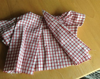 Red/White checkered blouse