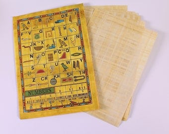Egyptian Papyrus Pack of 10 Papyrus Sheets