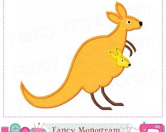 Kangaroo applique,Kangaroo embroidery,Roo,Kangaroo design,bandicoot,Kangaroo,Mother's day.
