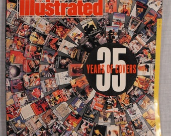 Vintage Special Issue Sports Illustrated Magazine . 35 Years of Covers  FREE SHIPPING