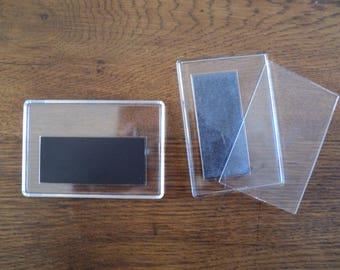 magnetic picture frame or creation magnet plexiglass frame
