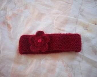 Headband baby 45/48 (red)